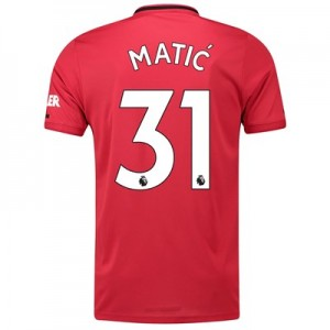 Manchester United Home Shirt 2019 - 20 with Matic 31 printing