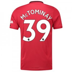 Manchester United Home Shirt 2019 - 20 with McTominay 39 printing