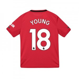 Manchester United Home Shirt 2019 - 20 - Kids with Young 18 printing