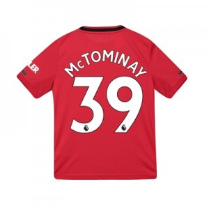 Manchester United Home Shirt 2019 - 20 - Kids with McTominay 39 printing