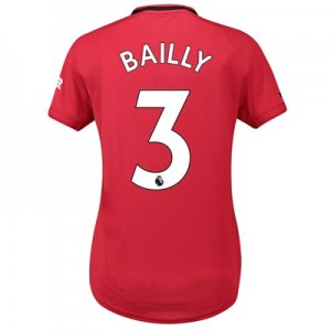 Manchester United Home Shirt 2019 - 20 - Womens with Bailly 3 printing