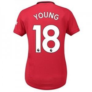 Manchester United Home Shirt 2019 - 20 - Womens with Young 18 printing