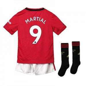 Manchester United Home Mini Kit 2019 - 20 with Martial 9 printing