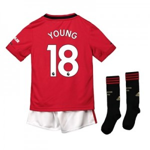Manchester United Home Mini Kit 2019 - 20 with Young 18 printing