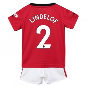 Manchester United Home Baby Kit 2019 - 20 with Lindelof 2 printing