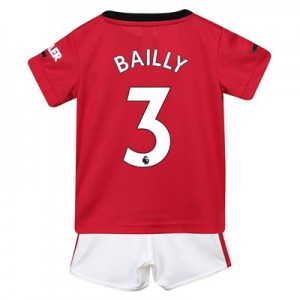 Manchester United Home Baby Kit 2019 - 20 with Bailly 3 printing