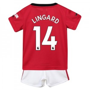 Manchester United Home Baby Kit 2019 - 20 with Lingard 14 printing