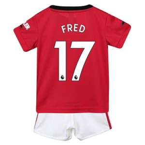 Manchester United Home Baby Kit 2019 - 20 with Fred 17 printing