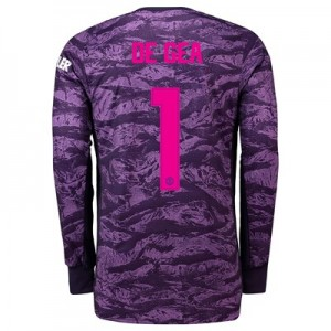 Manchester United Home Cup Goalkeeper Shirt 2019 - 20 with De Gea 1 printing