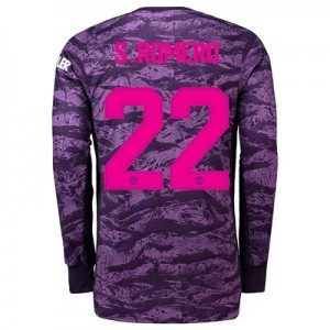 Manchester United Home Cup Goalkeeper Shirt 2019 - 20 with S.Romero 22 printing