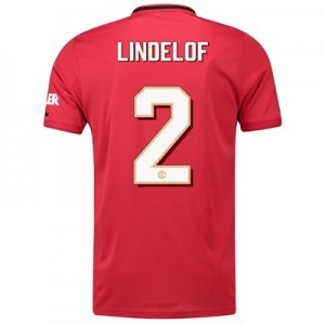 Manchester United Cup Home Shirt 2019 - 20 with Lindelof 2 printing