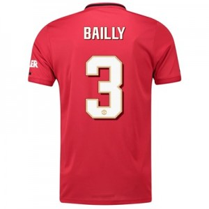 Manchester United Cup Home Shirt 2019 - 20 with Bailly 3 printing