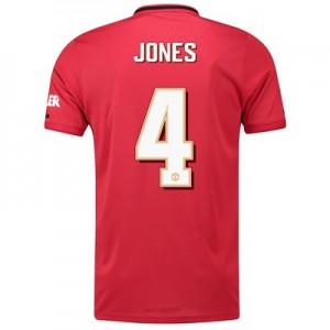 Manchester United Cup Home Shirt 2019 - 20 with Jones 4 printing