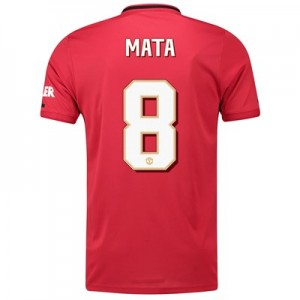 Manchester United Cup Home Shirt 2019 - 20 with Mata 8 printing