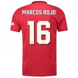 Manchester United Cup Home Shirt 2019 - 20 with Marcos Rojo 16 printing