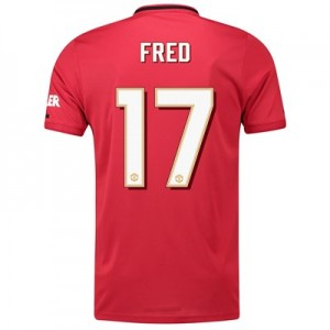 Manchester United Cup Home Shirt 2019 - 20 with Fred 17 printing