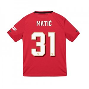 Manchester United Cup Home Shirt 2019 - 20 - Kids with Matic 31 printing