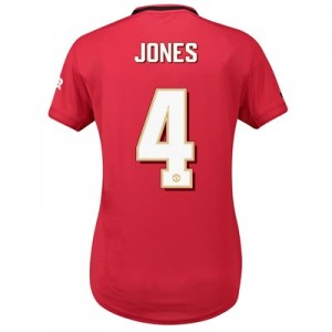 Manchester United Cup Home Shirt 2019 - 20 - Womens with Jones 4 printing