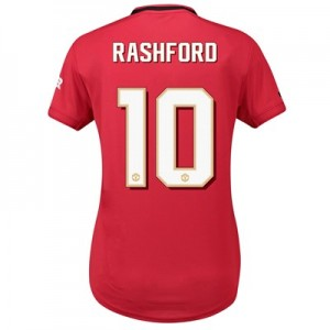 Manchester United Cup Home Shirt 2019 - 20 - Womens with Rashford 10 printing
