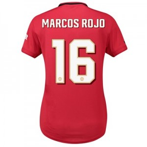 Manchester United Cup Home Shirt 2019 - 20 - Womens with Marcos Rojo 16 printing