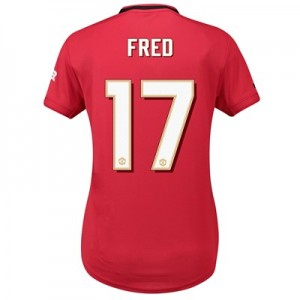 Manchester United Cup Home Shirt 2019 - 20 - Womens with Fred 17 printing