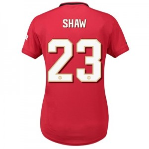 Manchester United Cup Home Shirt 2019 - 20 - Womens with Shaw 23 printing