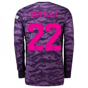 Manchester United Home Cup Goalkeeper Shirt 2019 - 20 with Bentley 22 printing