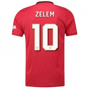 Manchester United Cup Home Shirt 2019 - 20 with Zelem 10 printing
