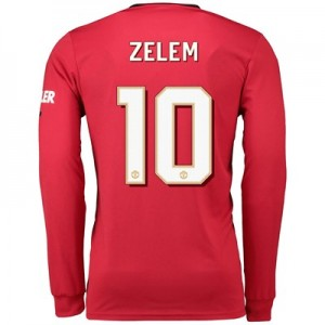 Manchester United Cup Home Shirt 2019 - 20 - Long Sleeve with Zelem 10 printing
