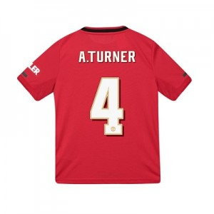 Manchester United Cup Home Shirt 2019 - 20 - Kids with A.Turner 4 printing