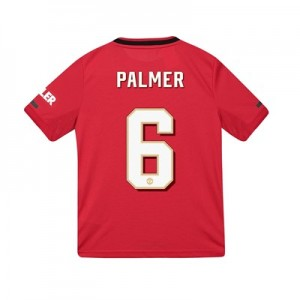 Manchester United Cup Home Shirt 2019 - 20 - Kids with Palmer 6 printing