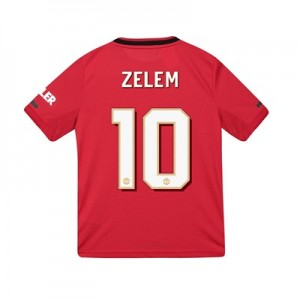 Manchester United Cup Home Shirt 2019 - 20 - Kids with Zelem 10 printing
