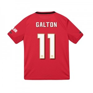 Manchester United Cup Home Shirt 2019 - 20 - Kids with Galton 11 printing