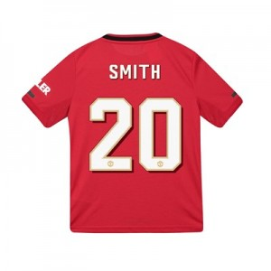 Manchester United Cup Home Shirt 2019 - 20 - Kids with Smith 20 printing