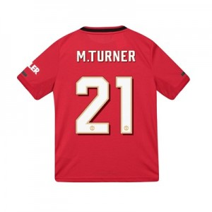 Manchester United Cup Home Shirt 2019 - 20 - Kids with M.Turner 21 printing