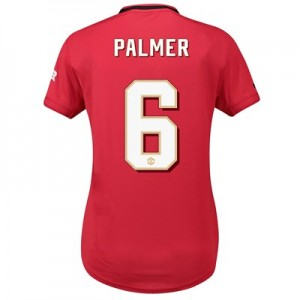 Manchester United Home Cup Shirt 2019 - 20 - Womens with Palmer 6 printing