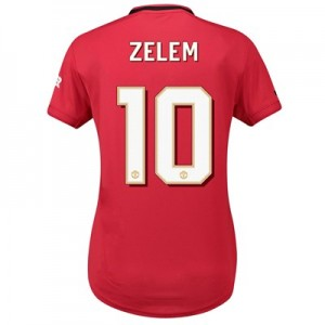 Manchester United Home Cup Shirt 2019 - 20 - Womens with Zelem 10 printing
