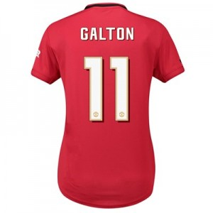 Manchester United Home Cup Shirt 2019 - 20 - Womens with Galton 11 printing