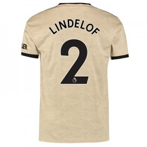 Manchester United Away Shirt 2019 - 20 with Lindelof 2 printing