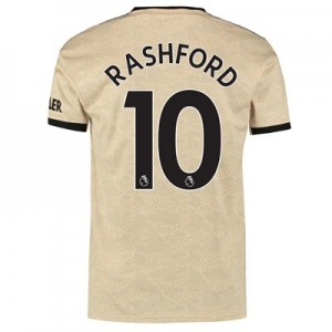 Manchester United Away Shirt 2019 - 20 with Rashford 10 printing