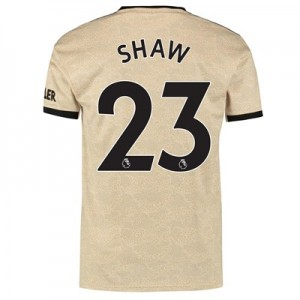 Manchester United Away Shirt 2019 - 20 with Shaw 23 printing