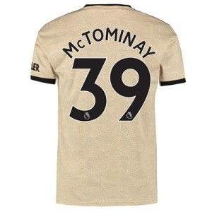 Manchester United Away Shirt 2019 - 20 with McTominay 39 printing
