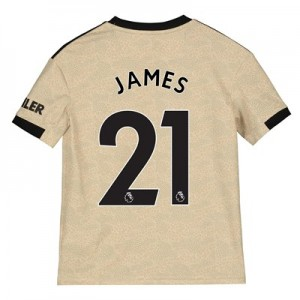 Manchester United Away Shirt 2019 - 20 - Kids with James 21 printing