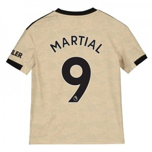 Manchester United Away Shirt 2019 - 20 - Kids with Martial 9 printing