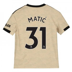 Manchester United Away Shirt 2019 - 20 - Kids with Matic 31 printing