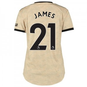 Manchester United Away Shirt 2019 - 20 - Womens with James 21 printing