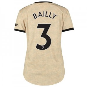 Manchester United Away Shirt 2019 - 20 - Womens with Bailly 3 printing