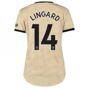Manchester United Away Shirt 2019 - 20 - Womens with Lingard 14 printing