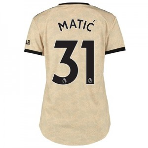 Manchester United Away Shirt 2019 - 20 - Womens with Matic 31 printing
