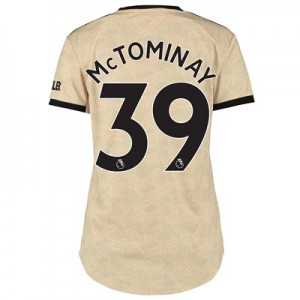 Manchester United Away Shirt 2019 - 20 - Womens with McTominay 39 printing